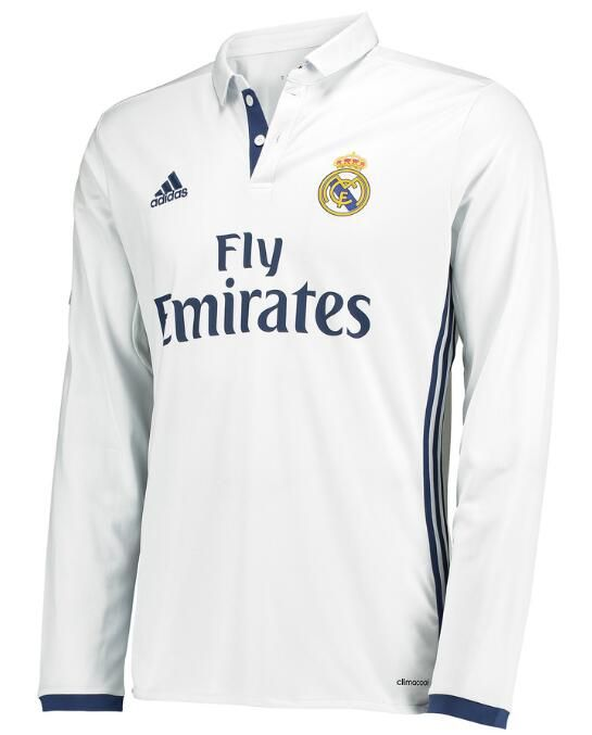check out d3cc0 82182 $20.Ronaldo Real Madrid 16/17 long sleeve home soccer jersey ...