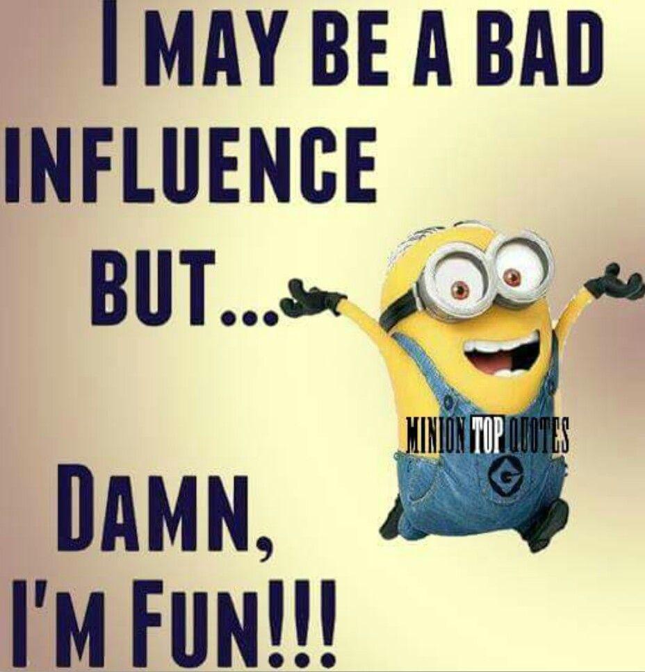 I'm fun...