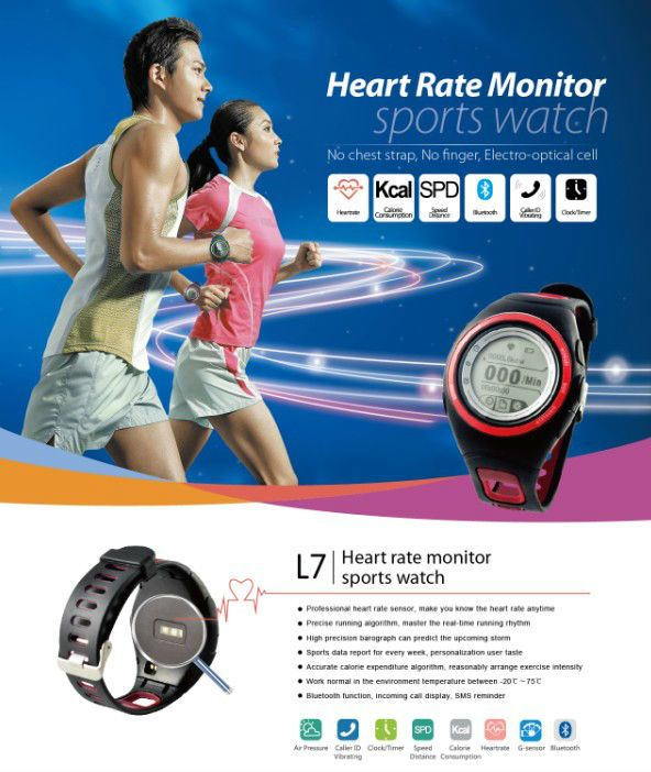 Global Leading Sensored Heart Rate Monitor With Bluetooth
