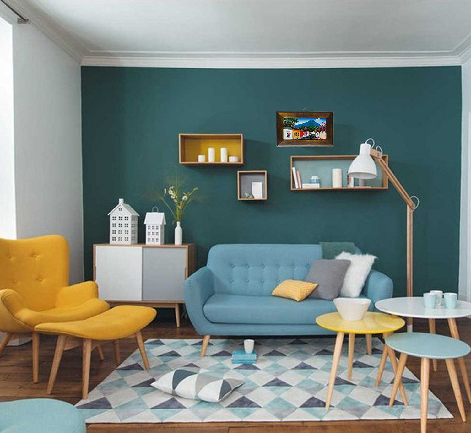 Attractive Turquoise Color Scheme Living Room For Modern Your Room Cool Grey Living Room Design Design Inspiration