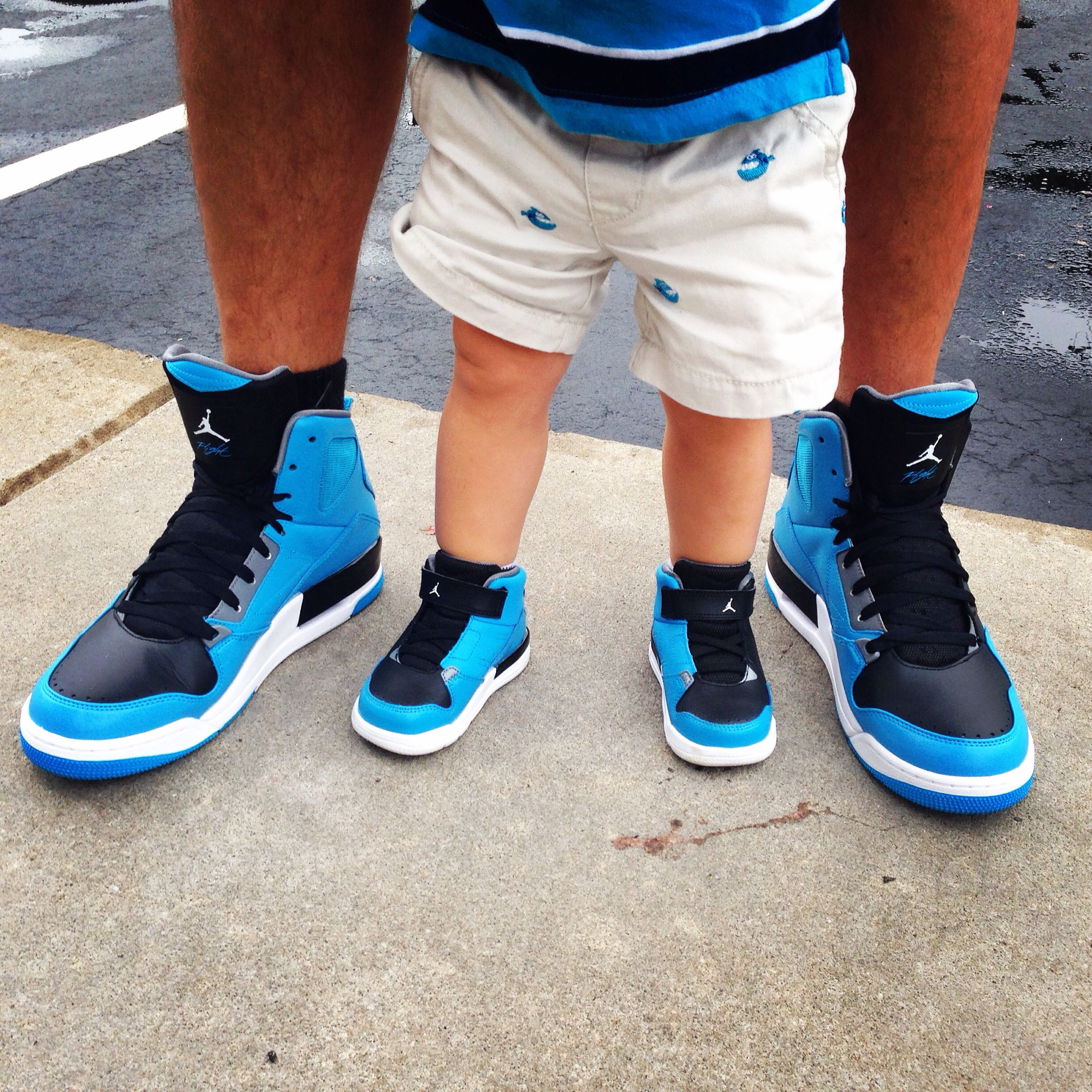 dd30f3467a027a Father and son matching Jordan s!