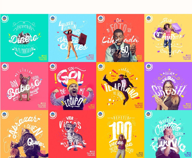 Mirecarganatural Posts Fb On Behance Social Media Design Inspiration Graphic Design Inspiration Graphic Design Posters