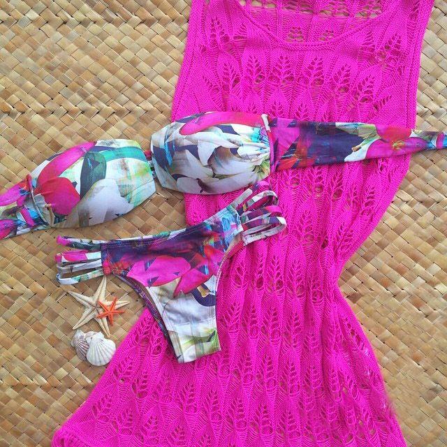Encontre mais Biquinis ajustados Informações sobre Venda quente mulheres meninas moda Casual imprimir bikini set swimwear brasileiro push up maiôs mais novo maiô 2015, de alta qualidade Biquinis ajustados de  We heart it em Aliexpress.com