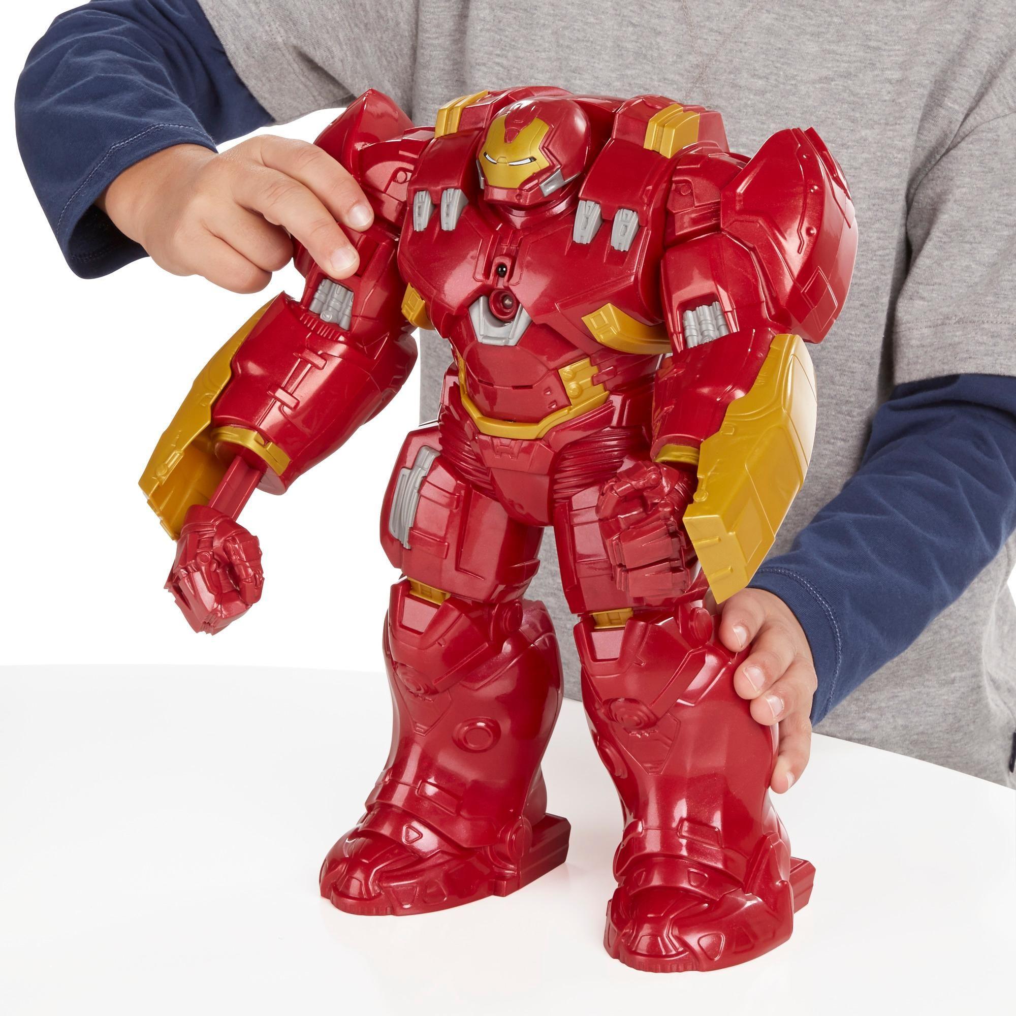 Avengers B04411010 Figurine Cinema Interactive Armure Hulk Buster Amazon Fr Jeux Et Jouets Avengers Figurine Hulk