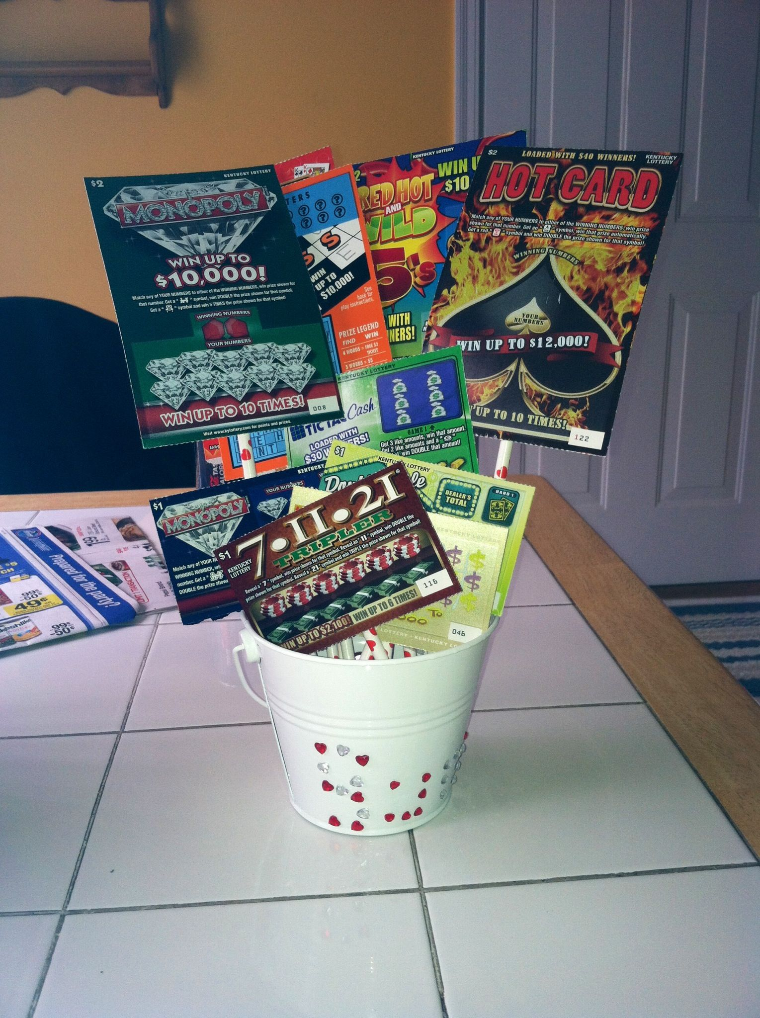 Discover Ideas About Lottery Ticket Christmas T