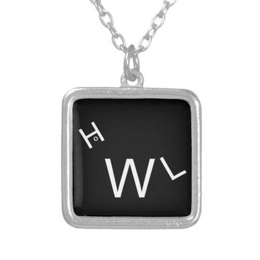 Small Necklace with Howl Design