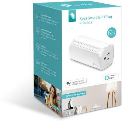 TP-Link Smart Wi-Fi Plug 2-Outlet (HS107)   Products   Tp