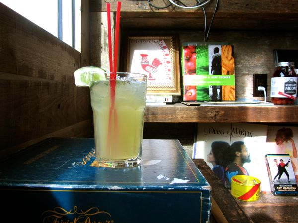 Marcus Samuelsson's Rainforest Harvest Mojito at Red Rooster restaurant in Harlem uses Ambessa Lingonberry Green tea