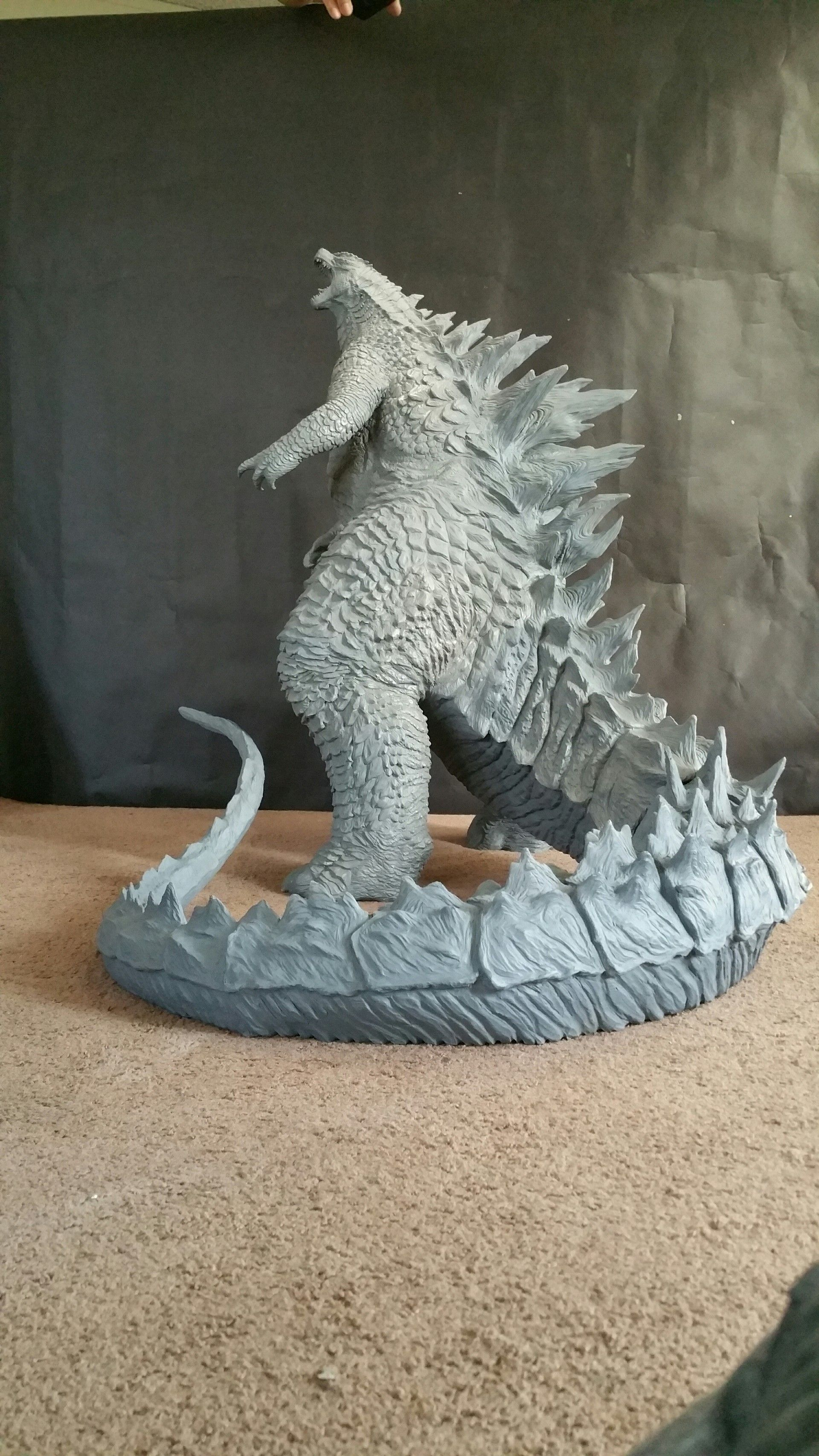 Here S A Look At The Godzilla Statue I Sculpted A Few Years Back
