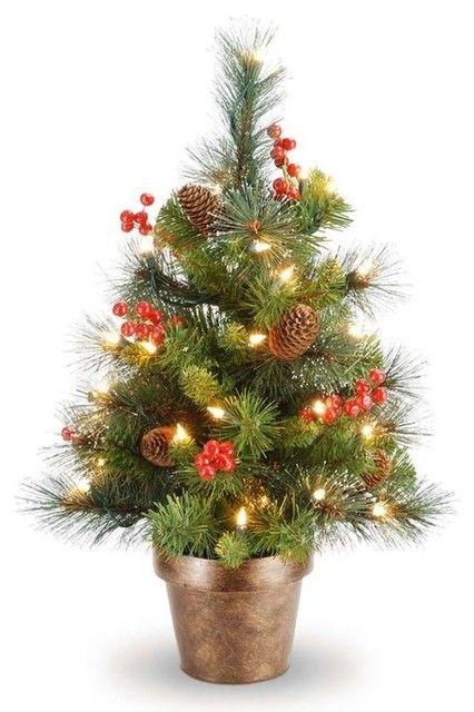 fake small fake christmas trees 3 photo