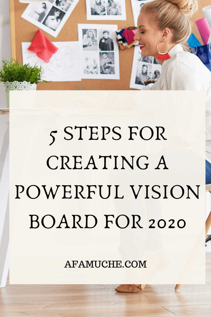 Step By Step Process To Creating The Best Vision Boards Vision Board Inspiration Vision Board Creating A Vision Board