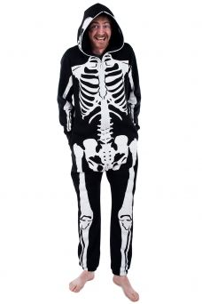 68cfd04b539 Men s Skeleton Jumpsuit. Men s Skeleton Jumpsuit Popular Halloween Costumes  ...