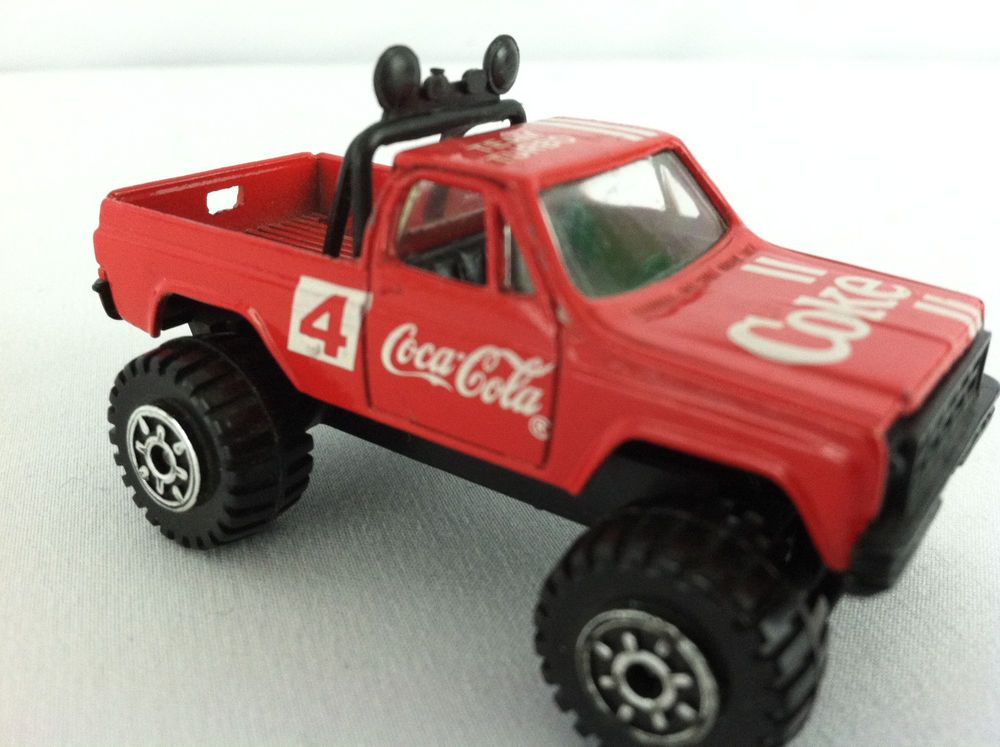 Har Toy Coca Cola Advertising Die Cast 4x4 Truck Hasbro Truck
