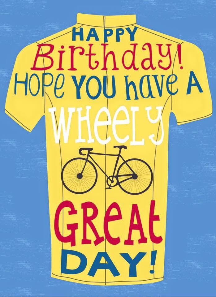 Verjaardag Man Fietser.This Is Wheely Great Verjaardagskaarten Auguri Di
