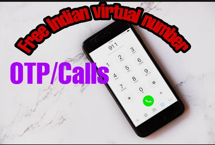 Free Indian virtual number for OTP/Calls Otp, Virtual, Free
