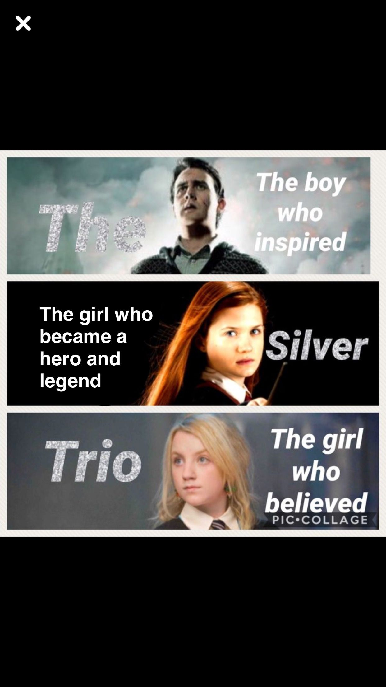 Actually It S The Boy Who Grew The Girl Who Waited And The Girl Who Inspired Harry Potter Collection Harry Potter Facts Harry Potter Wizard