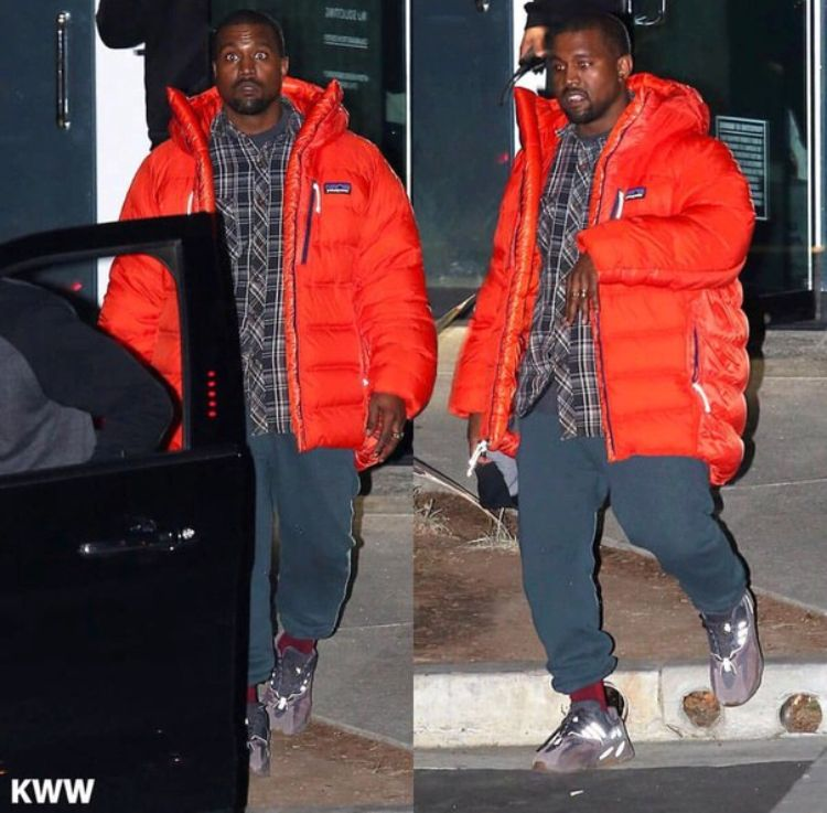 Pin By Vince On Ye Kanye West Patagonia Jacket Fashion Silhouette