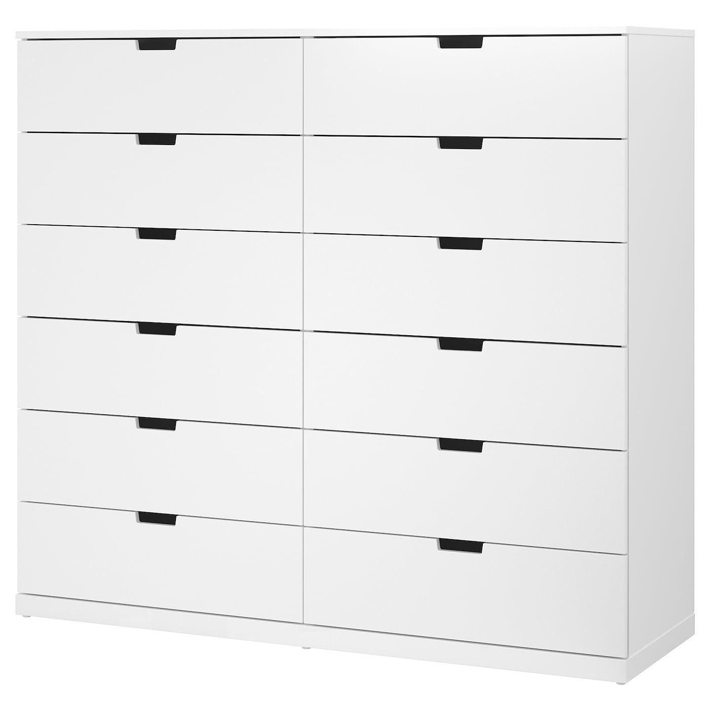 Nordli 12 Drawer Chest White 63x57 1 8 Ikea In 2021 Ikea Bedroom Storage Ikea Nordli Ikea [ 1400 x 1400 Pixel ]