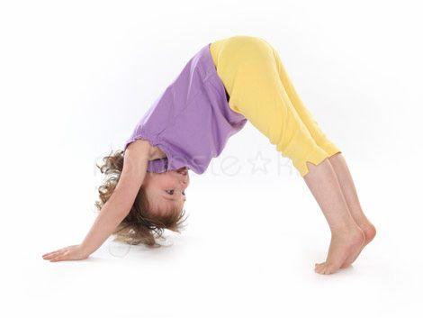 Downward Facing Dog Kids Yoga Poses Yoga For Kids Exercise For Kids