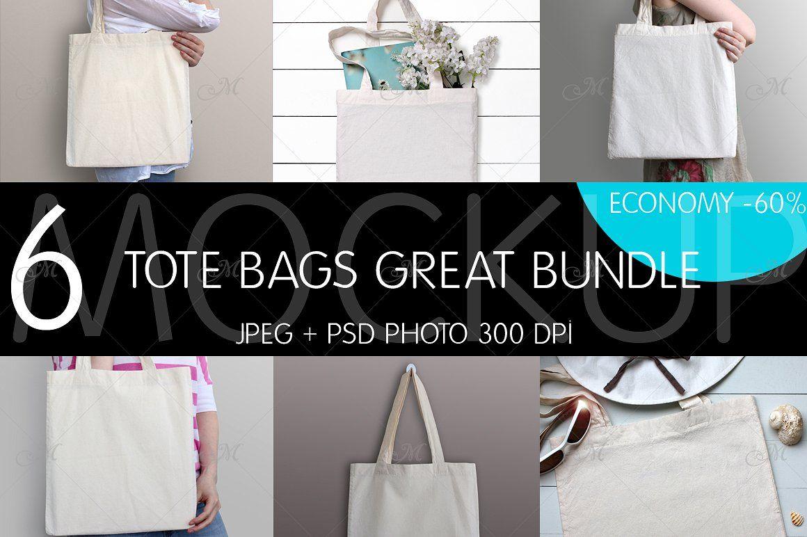 Download Tote Bags Great Bundle Psd Jpeg Design Mockup Free Psd Mockup Template Psd