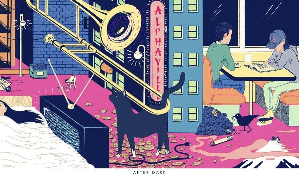 Drawing Inspiration: Murakami After Dark