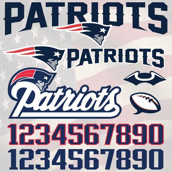 Download New England Patriots Football logo svg, digital download ...
