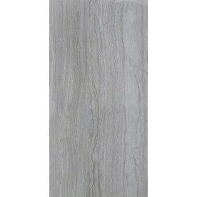 Style Selections Vista Grey 1 X2 Tile Wall And Floor Travertine Floors Grey Ceramic Tile Tile Floor