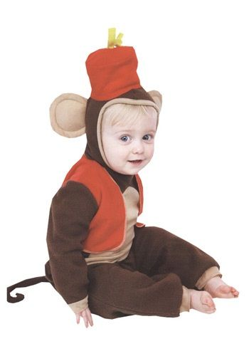 infant monkey costume just add wings