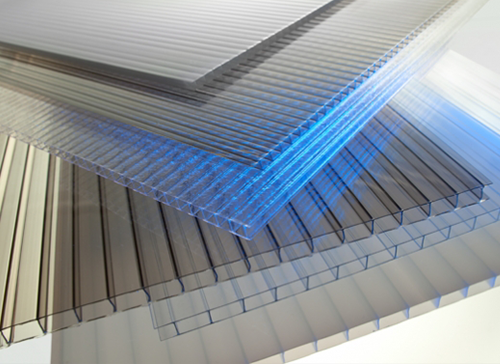 Polygal Products Are Multi Wall Pc Sheets Which Have An Internal Structure Of Ribs This Means T Plastic Cladding Twin Wall Polycarbonate Sheet Facade Cladding
