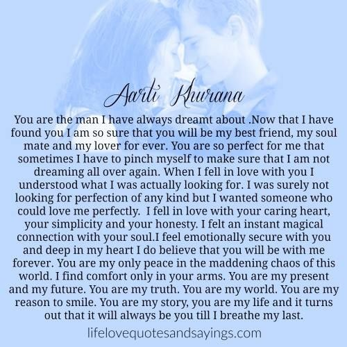 You Are The Man Of My Dreams Images Pinterest Love Quotes