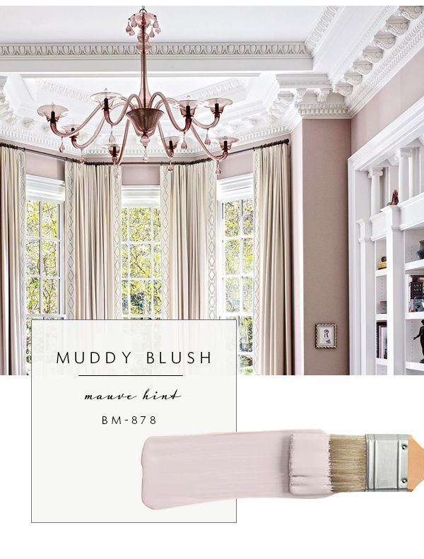 Our top color palette trends spring 2017 muddy blush aka mauve master bedroom pinterest Trending master bedroom paint colors