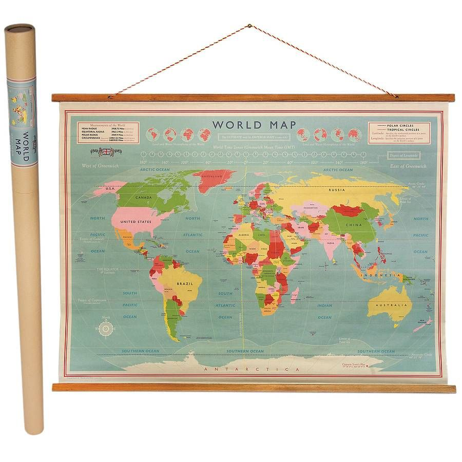 World Map Poster Vintage Previousnext Map Vintage Side Room - World map poster vintage style