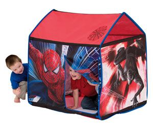 Spider-Man 3 Play Tent Great for hours of outdoor and indoor fun!   sc 1 st  Pinterest & Spider-Man 3 Play Tent Great for hours of outdoor and indoor fun ...