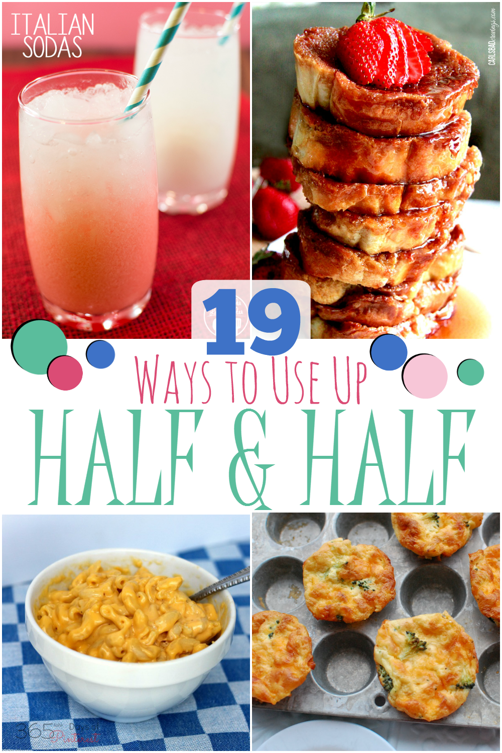 8 Yummy Ways to Use Up Half and Half  Half and half recipes