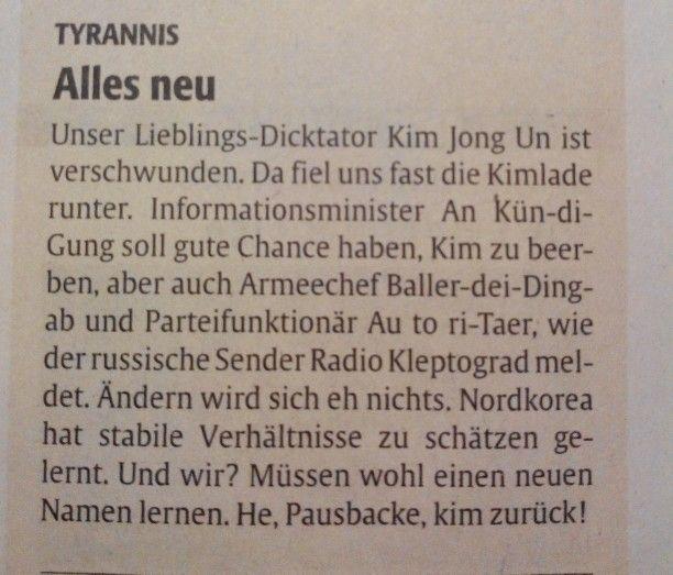 Die Rheinpfalz -Zeitung