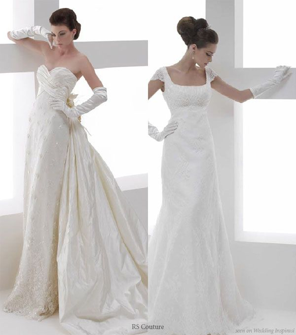 Wedding in color by rs couture audrey hepburn inspired for Audrey hepburn inspired wedding dress