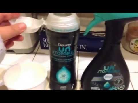 Watch How She Cleverly Makes Room/Linen Freshener With Downey ...