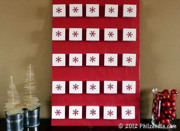 My DIY Advent Calendar Christmas Pinterest Advent calendars