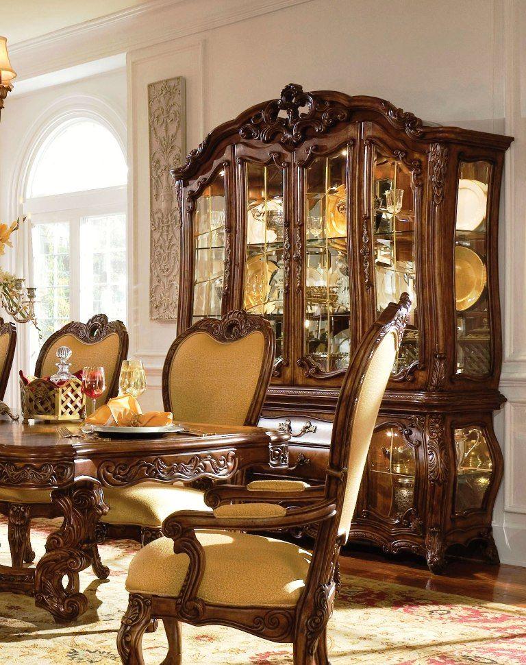 Michael Amini Luxury Dining Room Dining Room Design Side