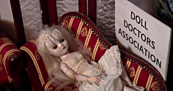 If You've Got A Doll That's In Need Of Some TLC, You Better Call The Doll Doctor!