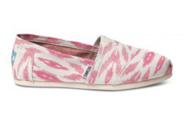 Pink Patterned Toms