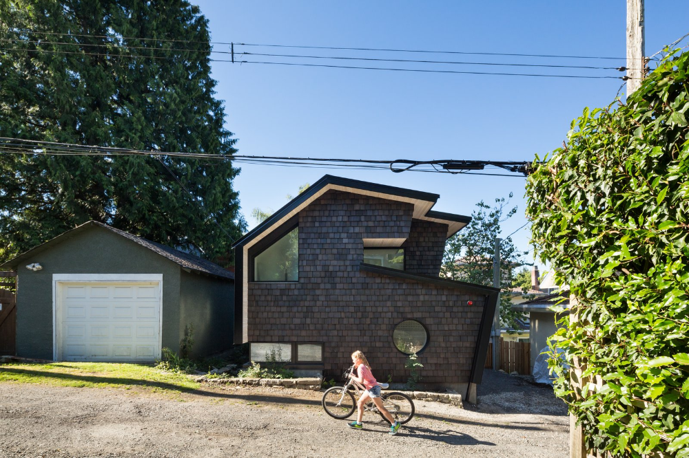 Miko Laneway By Campos Studio House Shed Design Exterior