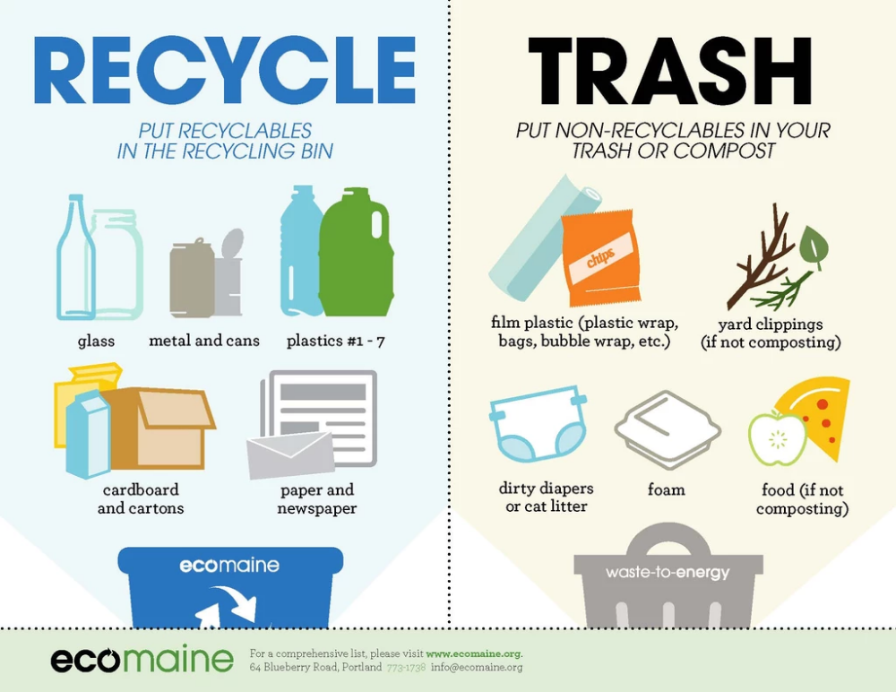 Beyond The Blue Bin Part 2 How To Make Your Recycling Count Recycle Poster What To Recycle Recycling Information