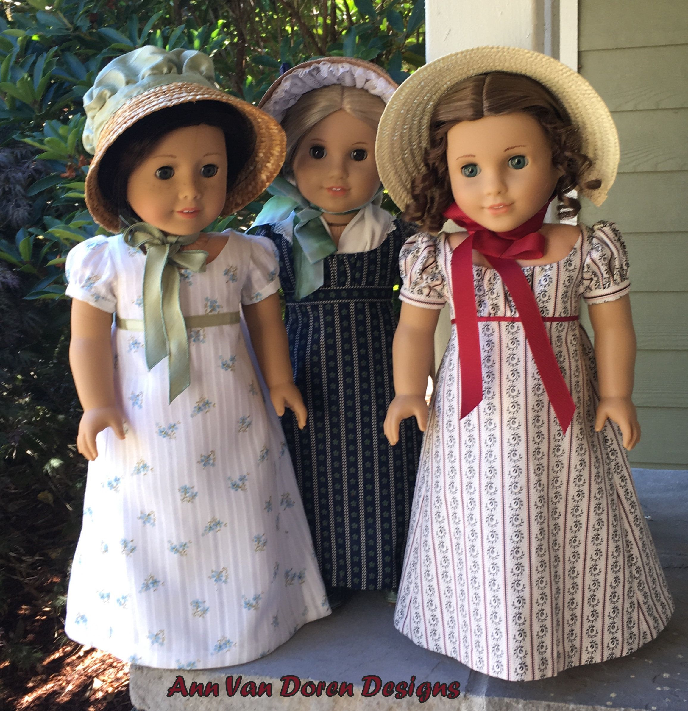 The Dashwood Sisters | Doll Clothes | Pinterest