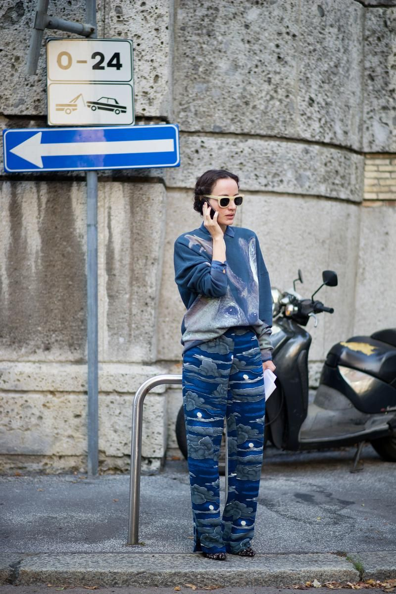 Milan Fashion Week  SS 2014 at KG Street Style