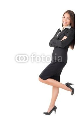 Businesswoman In Suit Leaning On Wall Stock Photo And Royalty Free Images On Fotolia Com Pic 30899581 Business Women Poses Stock Photos