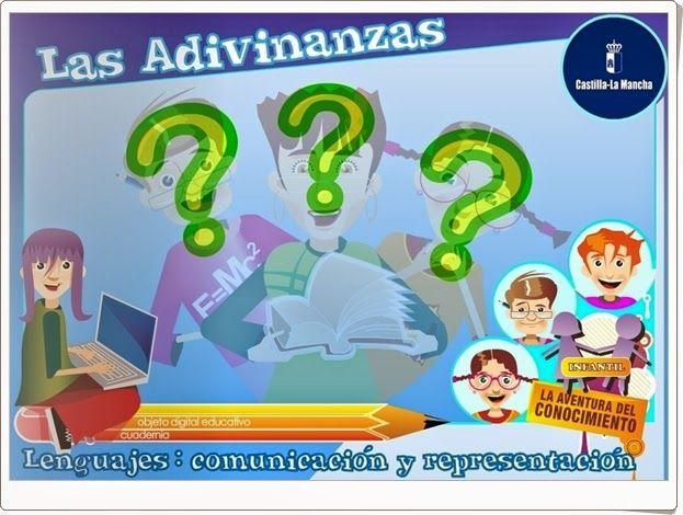 """""""Las adivinanzas"""" es una aplicación de la Junta de Castilla La Mancha que contiene actividades interactivas sobre las adivinanzas trabajando así la comprensión lectora además de introducir a textos literarios y reforzar los aprendizajes de los elementos que contienen las adivinanzas y se refieren al medio físico y social."""