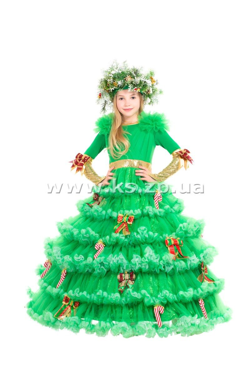 Костюм новогодней ёлочки своими руками фото 239