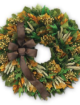 Fall Festivity Wreath - starting at $59.95 #fall #wreath #home