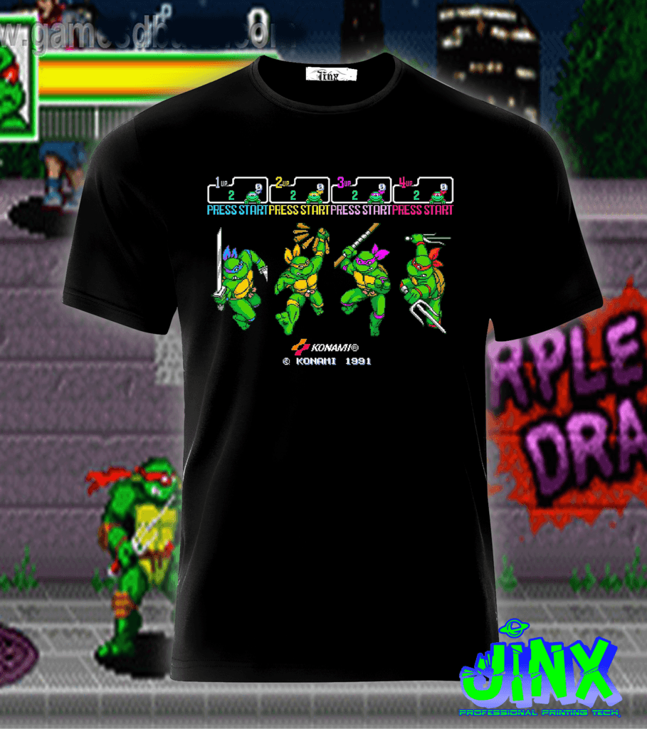 Playera o Camiseta Konami Turtles - Jinx